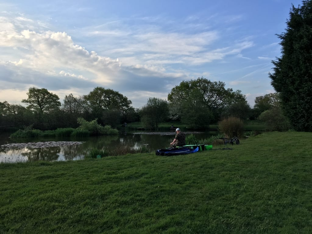 Bluestones Fishery, Mawdesley, Smaller Pond
