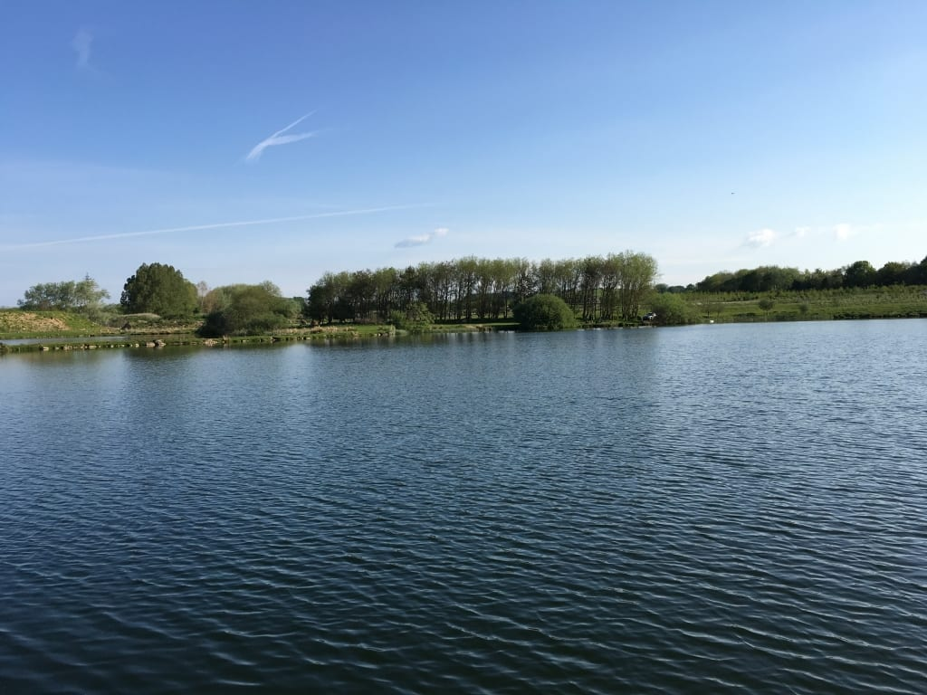 Plenty of water to Fish to at Borwick