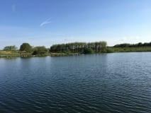 Plenty of water to Fish to at Borwick