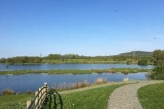 Borwick Fishing View Across The Lakes