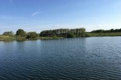 View across Jimmy's Lake Borwick Fishing