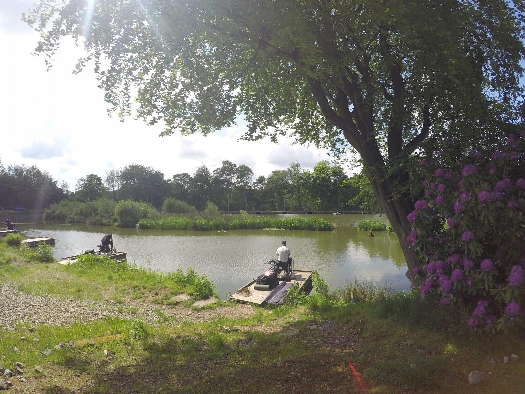 Lake Bradshaw Hall Fishing