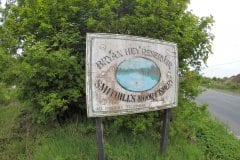 Bryan Hey Reservoir Sign
