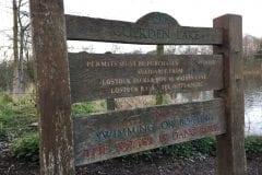Cuerden Valley Sign