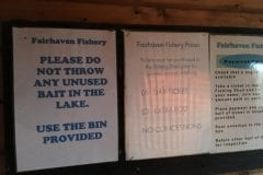 Rules Fairhaven Fishery