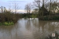 Small but beautiful on a quiet evening - Fairhaven Fishery
