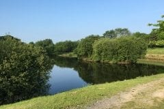 Fox's Lake Island, Fishing in Lancashire