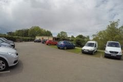 Greenhalgh Lodge Fishery car park & cafe