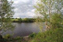Midway down lake 2 Heapey, Fishing in Lancashire