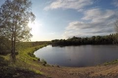 Heapey Reservoir Popular bank to the left