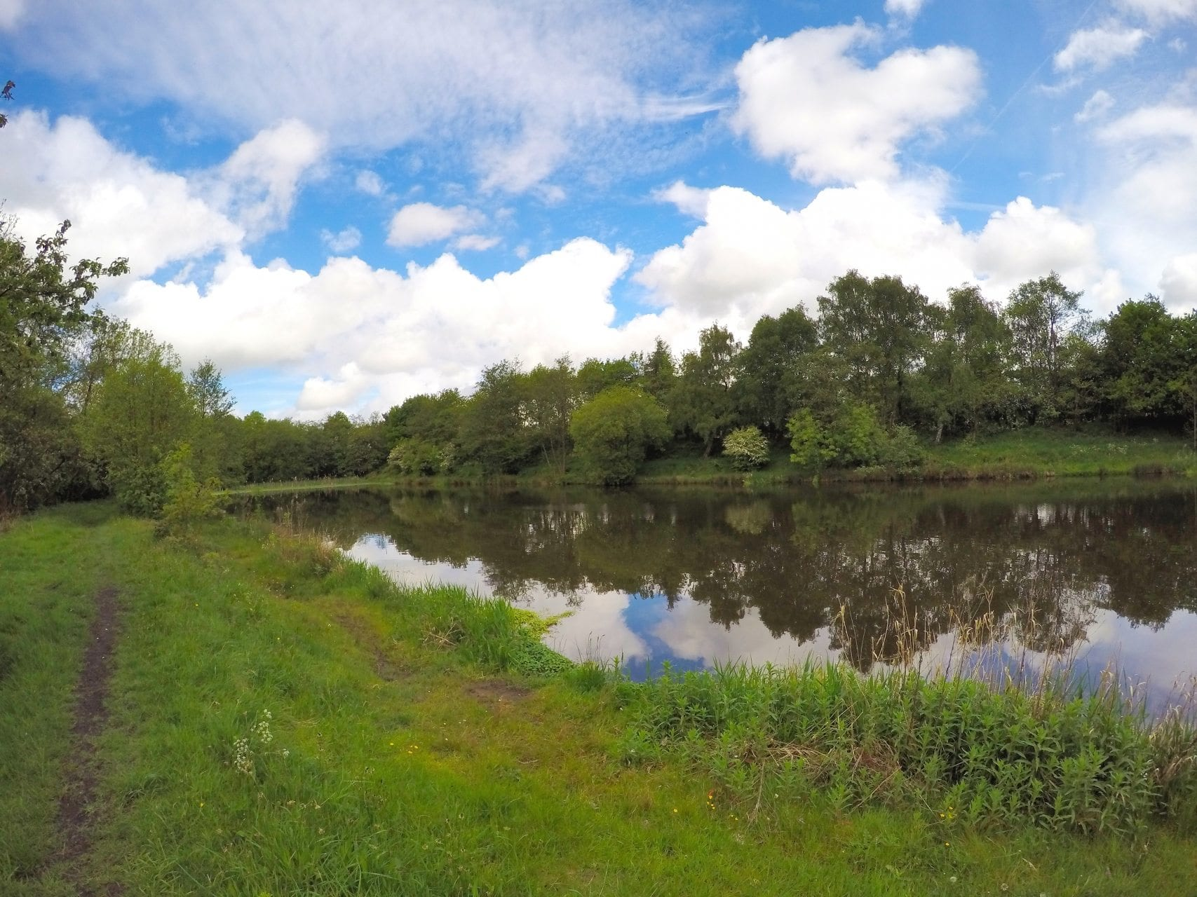 Hindley Deep Pit Ince Fishing in Lancashire