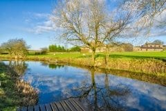 Lancaster Canal Crooklands Cumbria