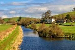 Lancaster Canal Farleton, Cumbria,