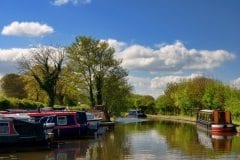 Lancaster Canal Galgate Marina