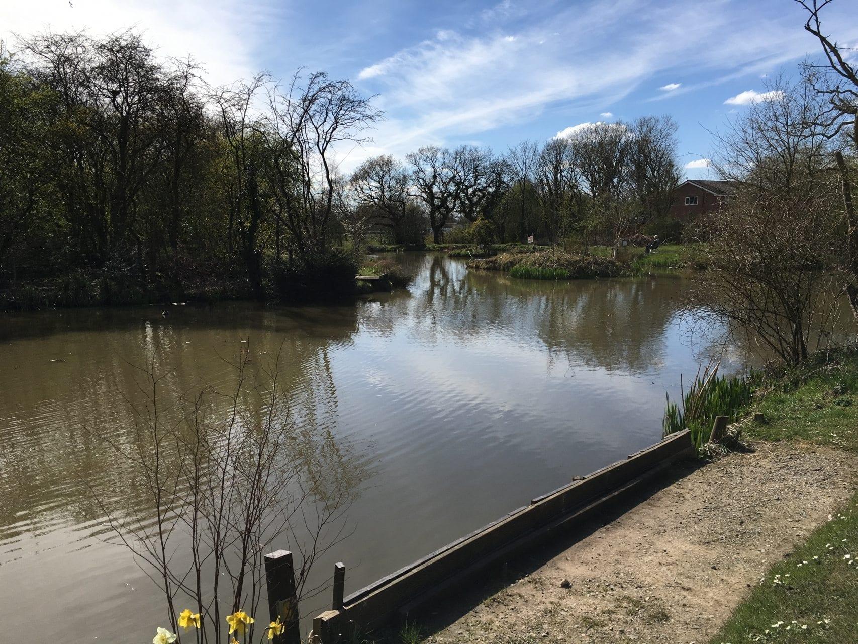 Moss Side Playing Fields Leyland | Fishing in Lancashire