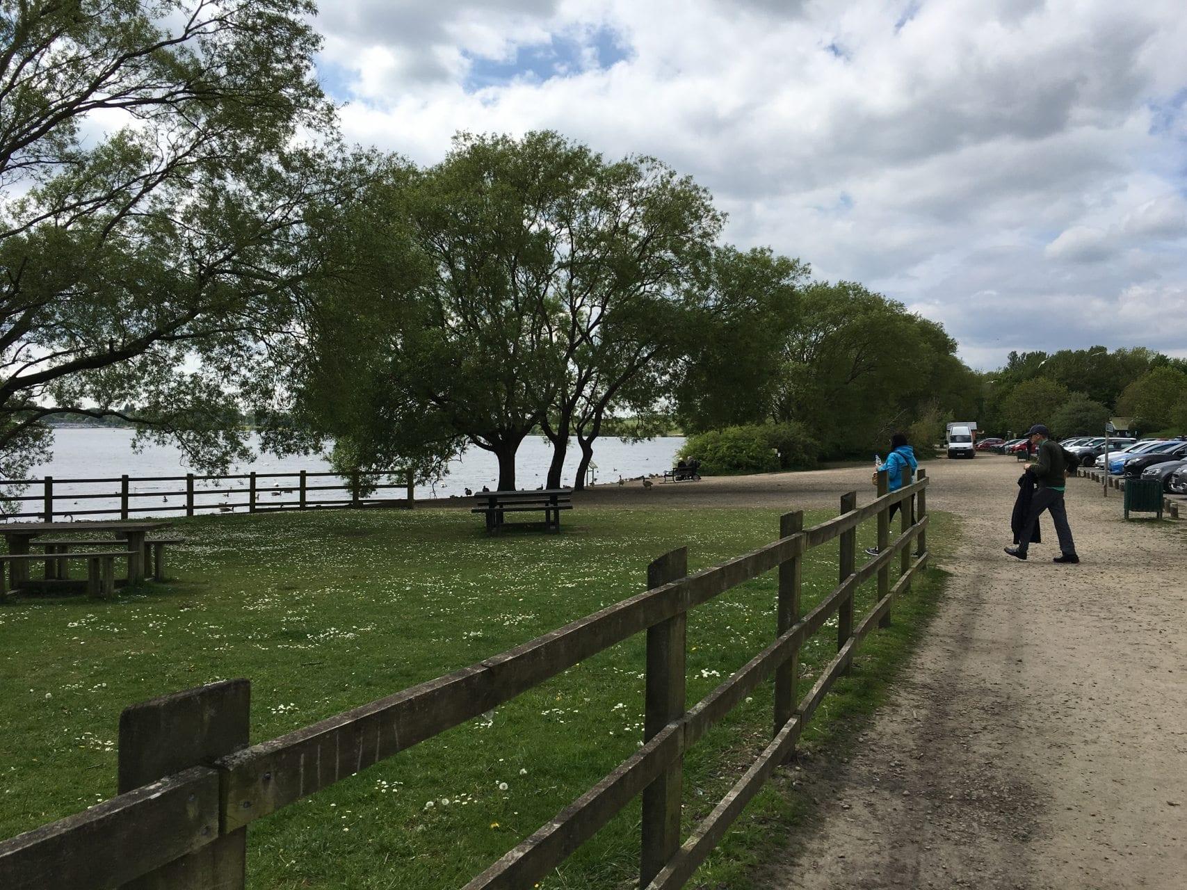 Pennington Flash Country Park from car park