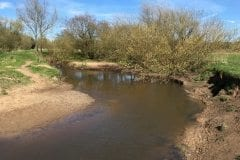 River Lostock Leyland - Sandy Banks