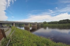 River Ribble Tickle Trout Motorway Bridge
