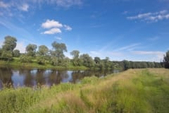 Brockholes side of the River Ribble