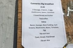 The Cunneries Cafe Big Breakfast