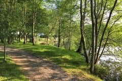 Superb walkways & pegs Sunnyside Lake 1