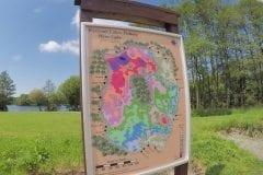 Wyre Lake - Depth / Contour Map