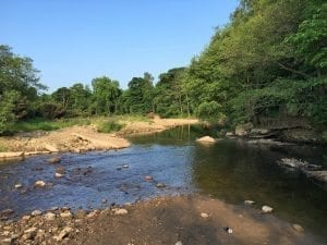 Fishing In Lancashire - Meandering River Wyre