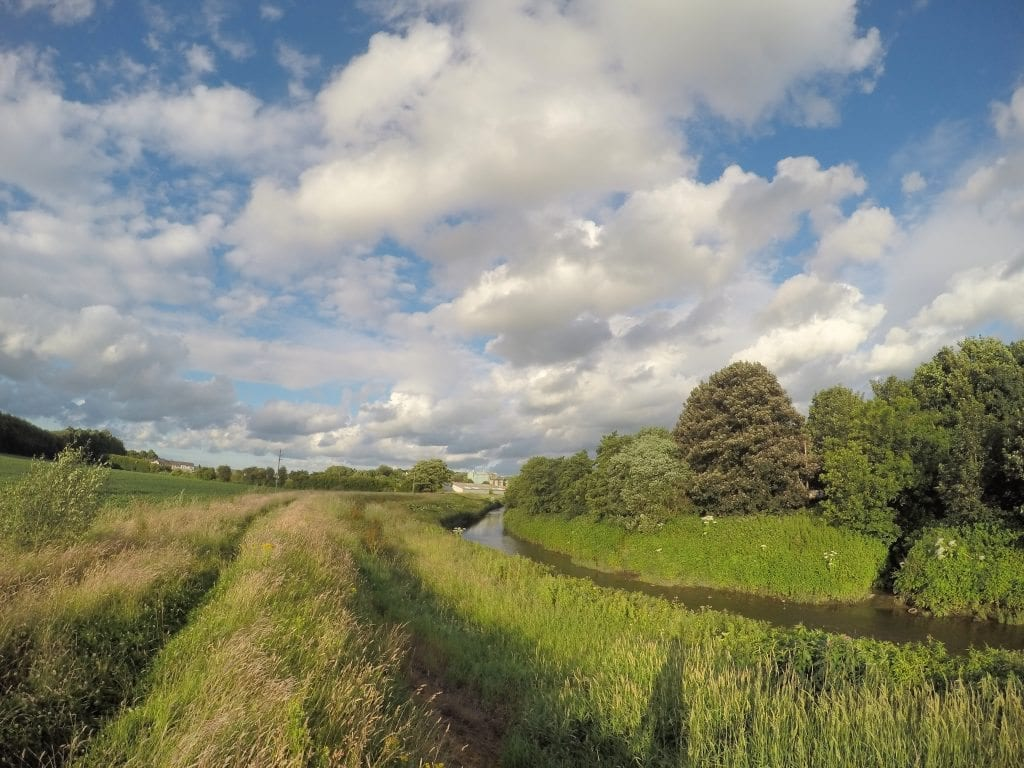 River Darwen Preston Lancashire