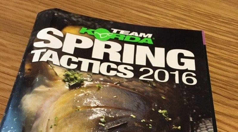 Korda Spring Tactics