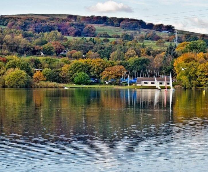 Jumbles Reservoir Bolton, Fishing